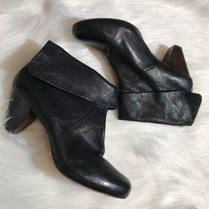 Frye Womens 11 Black Lisa SHortie booties